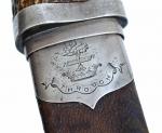 Scottish Dirk Highlanders appartenuto al Clan Hamilton, circa 1854