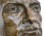 Busto in Bronzo Benito Mussolini Dignitario firmato Cesare Tarrini, 1926