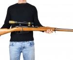 Carcano 91/41 Sperimentale (Versione Sniper), 1942