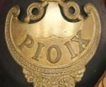 Elmo Ufficiale Guardia Civica PIO IX Stato Pontificio, 1848