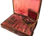 Cassette Chirurgiche di Guillaume Dupuytren Baron, Medico di Napoleone Bonaparte, Fine XVIII° secolo