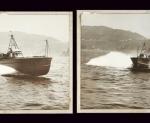 2 Rarissime Originali Grandi Foto MAS 507, circa 1943