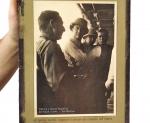 Foto Vittorio e Bruno Mussolini, Galeazzo Ciano e Gen. Bastico, 1935