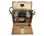 Feldtelefon o Telefono Austriaco Mod. 09, vTuTf - Czeija, Nissl & Co., K.u.K., circa 1916