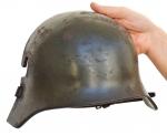 "Stirnpanzer o Stirnschild ""Corazzetta Frontale Antiproiettile"" Tedesca, circa 1916"
