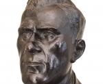 "Busto in Bronzo 92^ Legione ""F. Ferrucci"" Firenze M.V.S.N. circa 1938"