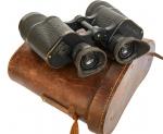 Doppelfernrohr 7x50 NEDINSCO Venlo Zeiss, D.v.D.-R.G.Tr. U.D.F. Okularsystem, 1936